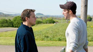 """Matt Damon et John Krasinski s'opposeront dans """"Promised Land"""", à sortir le 17 avril en France."""