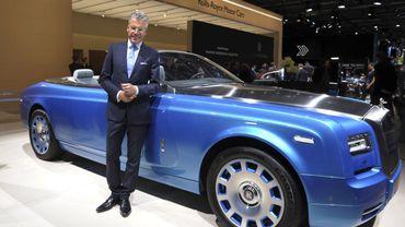 Le directeur général, Torsten Müller-Ötvös, souligne le succès du modèle Phantom.