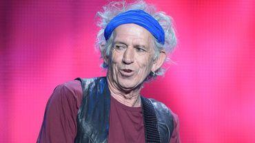 Keith Richards est le guitariste et cofondateur du légendaire groupe des Rolling Stones
