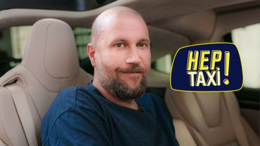 François Damiens dans le taxi