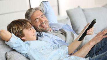 Les dessins animés, sources d'échange et de partage entre pères et enfants