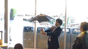 Japon: marchez toujours à l'ombre grâce au drone-parasol