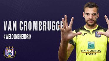 Hendrik Van Crombrugge rejoint Anderlecht