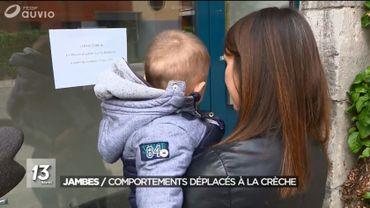 """Mise à l'instruction du dossier de la crèche la Fée Bébibulle à Jambes accusée de pratiques pédagogiques """" inacceptables """""""