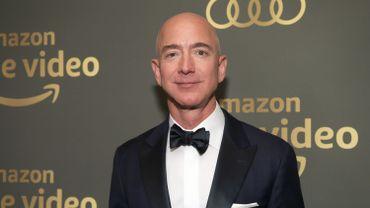 Jeff Bezos, le patron d'Amazon, est l'homme le plus riche du monde avec une fortune évaluée à 112 milliards de dollars en 2018.