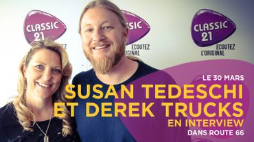 Susan Tedeschi et Derek Trucks en interview
