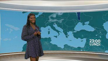 Audrey Djambewa présente la météo des vacances ce dimanche