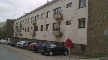 L'ancien bâtiment occupé par la gendarmerie