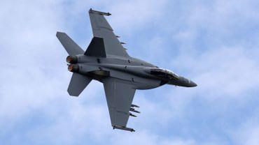 Le chasseur-bombardier F/A-18 E/F Super Hornet de Being