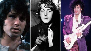 Jim MOrrison / Paul McCartney / Prince