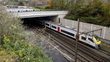 Une collision s'était produite le 3 novembre 2014 entre un convoi de voyageurs et un train de service entre les gares de Linkebeek et Braine-l'Alleud