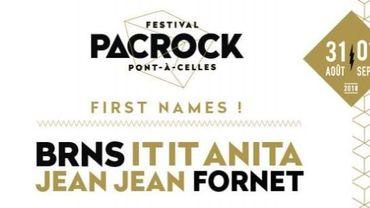 Le Pacrock festival de Pont-à-Celles est de retour en 2018, après une année d'absence.