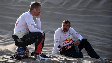 Sébastien Loeb et Daniel Elena