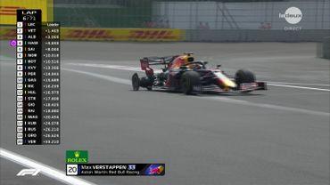 Pénalisé en qualif, départ chahuté et crevaison, le cauchemar mexicain de Verstappen