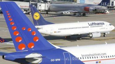 """""""La concurrence low-cost à l'origine des résultats décevants de Brussels Airlines"""" pour Lufthansa"""