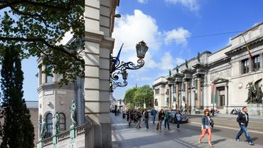 Avec ses 767.355 visiteurs accueillis en 2015, les Musées royaux des Beaux-Arts de Belgique (MRBAB) rentrent dans le Top 100 des musées d'art les plus fréquentés au monde