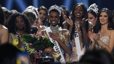 Miss Afrique du Sud couronnée Miss Univers 2019