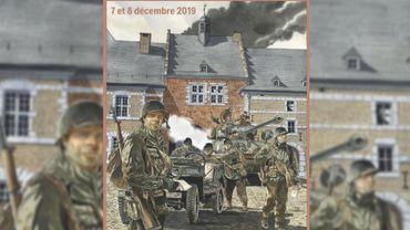 Reconstitution historique de la bataille des Ardennes (1944) à l'abbaye de Stavelot