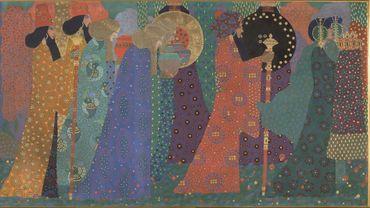 """""""Les mille et une nuits"""" de Vittorio Zecchin, vers 1914"""