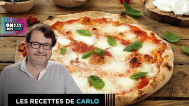 Recette de pizza margherita maison
