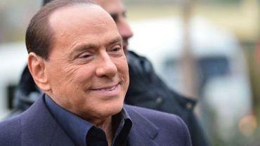 L'ancien chef du gouvernement italien Silvio Berlusconi à Milan, le 8 décembre 2012