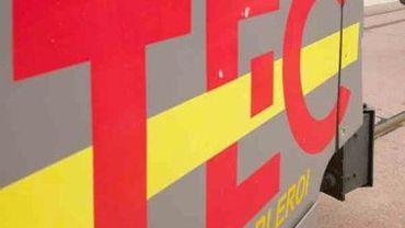 TEC Charleroi : le plan intempéries est activé