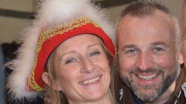 Stéphanie 1ère et son mari