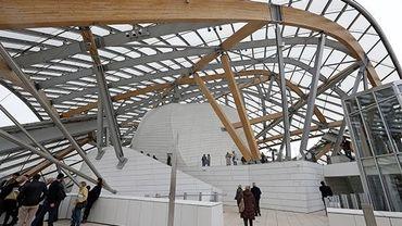 Le bois a notamment été utilisé pour la fondation Louis Vuitton.