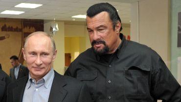 Vladimir Poutine et Steven Seagal
