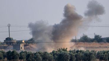 Assaut turc sur la ville syrienne Tal Abyad le 9 octobre dernier.