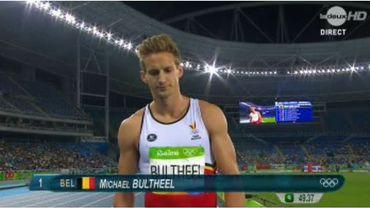 Athlétisme, la nuit: Michael Bultheel, 5ème de sa 1/2 et éliminé (LIVE)
