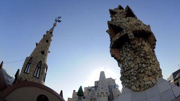 Le Palais Guell de Barcelone, conçu par Antoni Gaudi