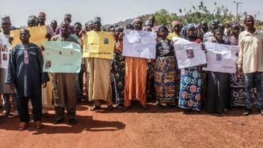 """Sept ans après, une centaine des """"filles de Chibok"""" toujours portées disparues au Nigeria"""