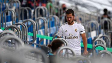 Hazard suivra depuis les tribunes la prochaine rencontre du Real Madrid.