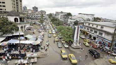 Vue du centre-ville de Monrovia