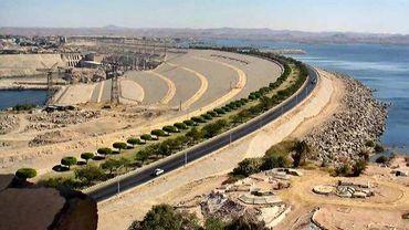 Barrage sur le Nil