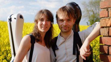Catherine Struys, guitariste et Wouter Vercruysse, violoncelliste, sont nos invités ce midi.