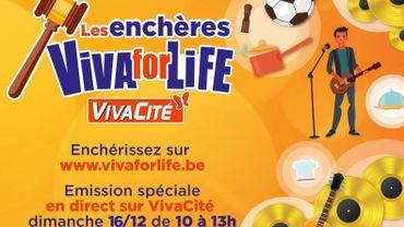 Les Enchères Viva for Life... Enchérissez en direct!