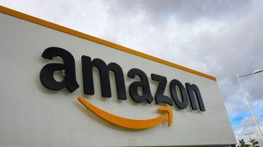 (ILLUSTRATION) Amazon saute de la troisième place à la première, chipée au géant de l'internet Google, qui rétrograde en troisième position