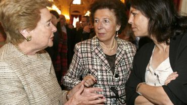 Antoinette Spaak (à gauche) et Joëlle Milquet (à droite)