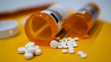 Des comprimés d'oxycodone contre la douleur, contenant des opiacés, le 18 septembre 2019 à Washington
