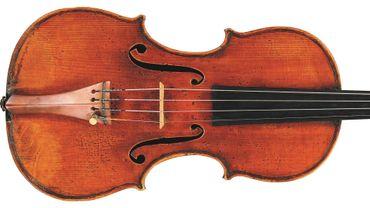 "Le violon ""Leduc del Gesù"" de 1744"