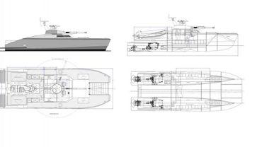 """Les plans du """"tank boat"""""""