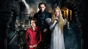 """Crimson Peak"" est porté par Mia Wasikowska, Jessica Chastain et Tom Hiddleston"