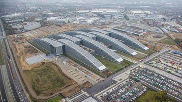 Le nouveau siège bruxellois de l'Otan inauguré en 2016.