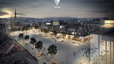 La nouvelle place de Verviers