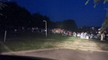 500 jeunes ont guindaillé au Lac de Louvain-la-Neuve
