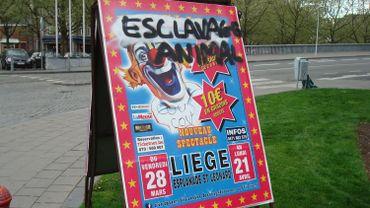 Liège : le cirque Bouglione porte plainte pour vandalisme