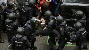 337 Catalans accueillis dans les hôpitaux suite aux violences policières