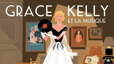 """Pochette de l'album """"Grace Kelly et la musique"""""""